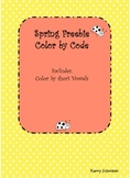 Spring Color by Code: Short Vowels