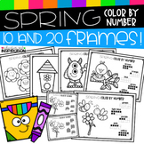 Spring Color by Number by Education and Inspiration