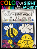 Spring Color by Sight Words Pre-Primer