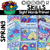 Spring Color by Code Sight Words (Primer)