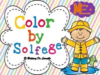 Spring Color by Solfege - Pentatonic - Sampler