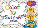 Spring Color by Solfege - So & Mi Practice