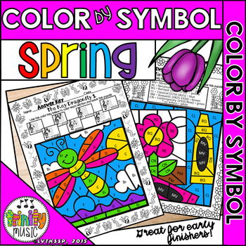 Spring Color by Symbol (for Music)