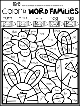 photo relating to Codeword Puzzles Printable named Spring Coloration by way of Code Term People Printables