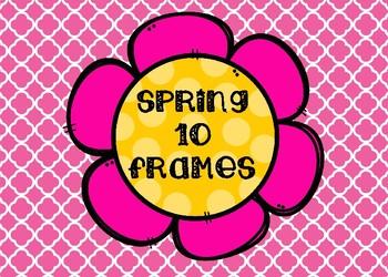 Spring Color the 10 Frames