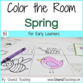 Spring Color the Room