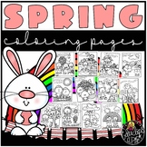 Spring Coloring Book {Educlips Resources}