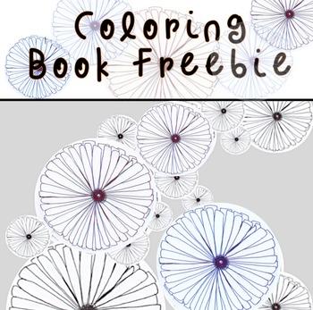 Spring Coloring Book Freebie