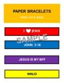 Bracelets -  Print, Cut, Color & Wear!