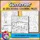 Four Seasons Coloring Pages Bundle