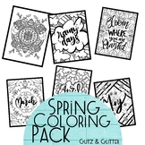 Spring Coloring Pack