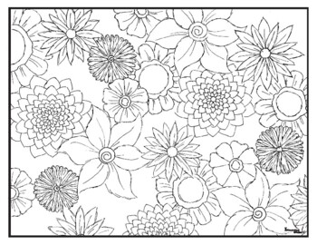 Spring Visual Arts Coloring Pages Highly Detailed by ...