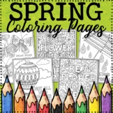 Spring Coloring Pages - 20 Fun, Creative Designs!