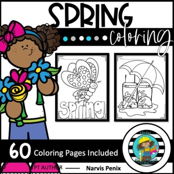 Printable Spring Coloring Pages | Sing Laugh Learn | 350x350