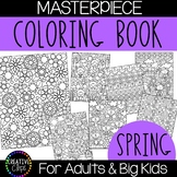 Spring Coloring Pages: Masterpieces {Made by Creative Clips}