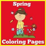 Spring Coloring Pages Preschool