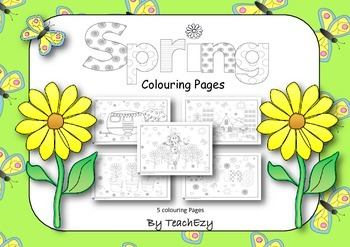 Spring Coloring pages