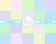 Digital Paper Pastel Spring Colors 20 pages