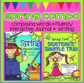 Spring Activities Compound Words Fluency