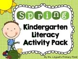 Spring Literacy Centers and Activities for Kindergarten