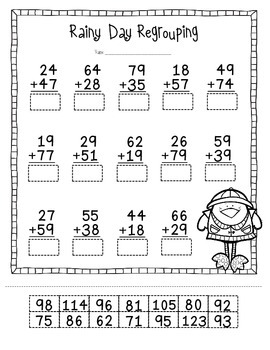 Spring Common Core Math Pack: 2nd Grade