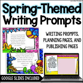 Spring Common Core Writing {Opinion, Informative, and Narrative Writing}