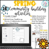 Digital Spring Community Building Activities   Fun Fridays
