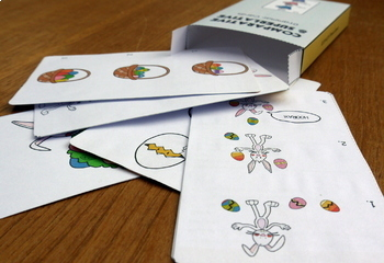 Comparative and Superlative Speech Therapy Grammar Cards: Spring and Easter