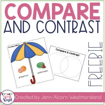 Spring Compare & Contrast {Freebie!}