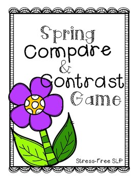 Spring Compare & Contrast Game