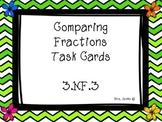 Spring Comparing Fraction Task Cards 3.nf.3
