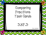 Spring Comparing Fraction Task Cards 3.nf.3