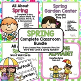 Spring Complete Classroom Bundle for Preschool, PreK, K &
