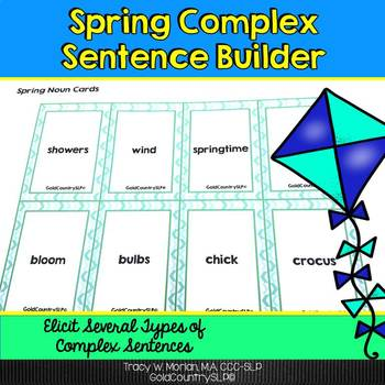 Spring Complex Sentence Builder