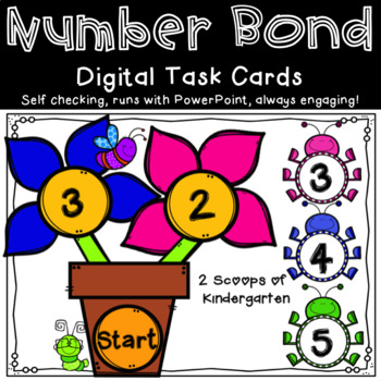 Spring Composing & Decomposing Number Bonds power point game
