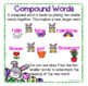 Spring Compound Word Anchor Charts