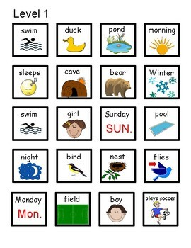 Spring Comprehension  Cards- An Interactive Activity for Students with Autism