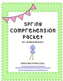 Spring Comprehension Packet