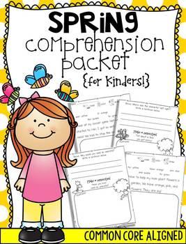 Spring Comprehension {for Kinders!}