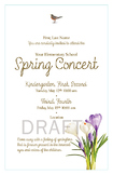 Spring Concert Invitation