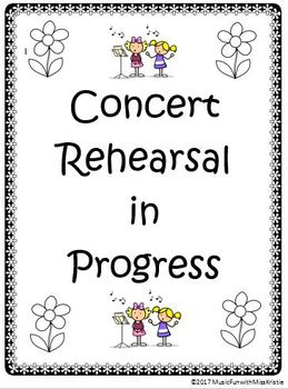 """Spring Concert """"Save the Date"""" & """"Concert Reminders"""""""