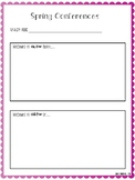 Spring Conference Forms- Grow & Glow