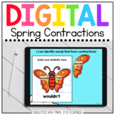 Spring Contractions Digital Activity | Distance Learning