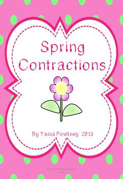 Contractions Pack- Spring theme