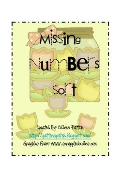 Spring Cookie Missing Number Sort