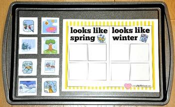 Spring Cookie Sheet Activities