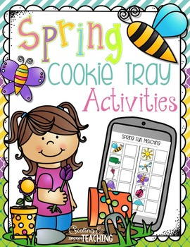 Spring Cookie Tray Activities