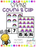 Spring Count & Clip (1-20)