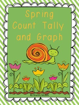 Spring Count, Tally, Graph Graphing Activity