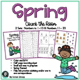 Spring Count The Room: A Math Counting/ Subitizing Activity